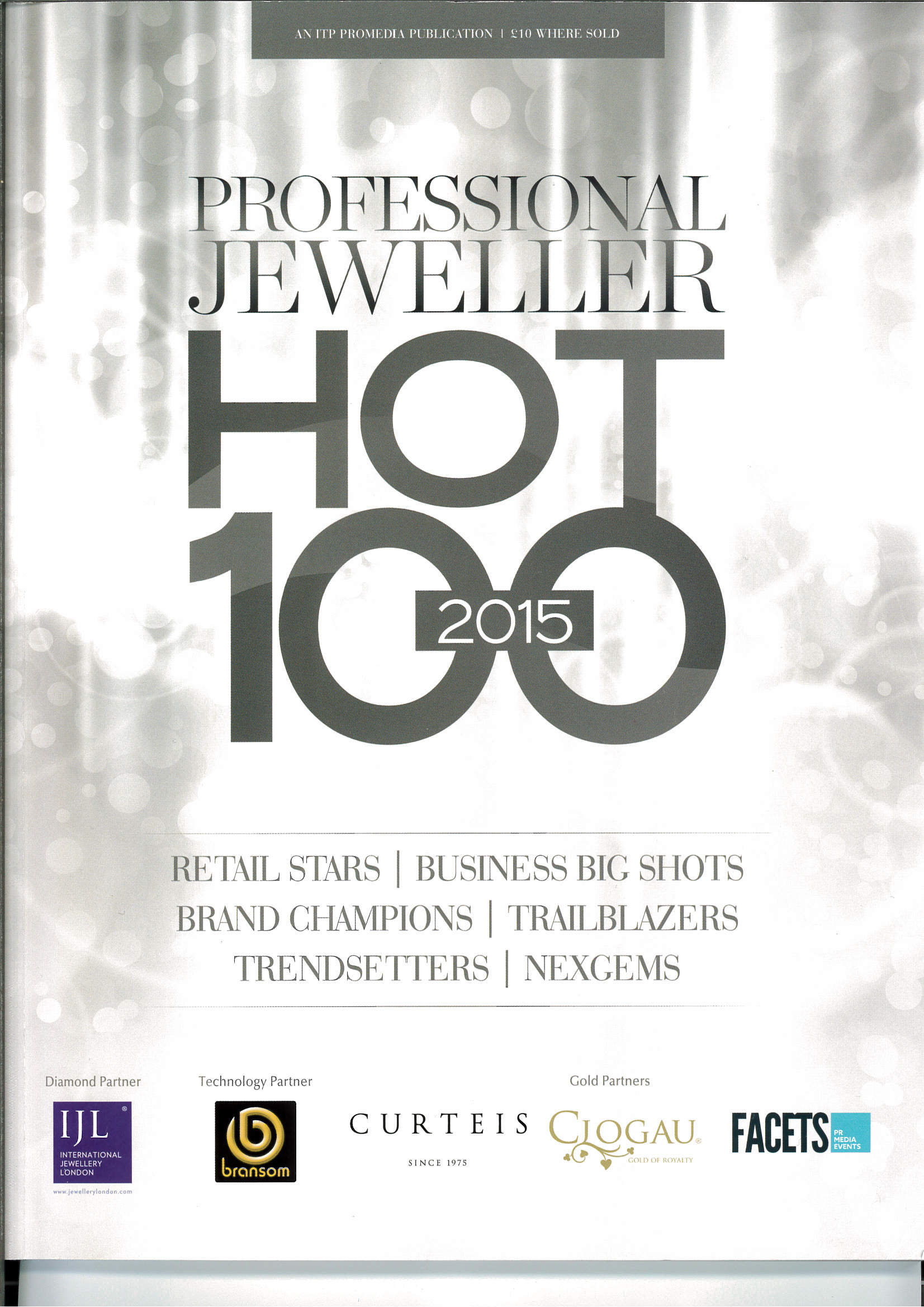 Cover Professional Jeweller HOT 100